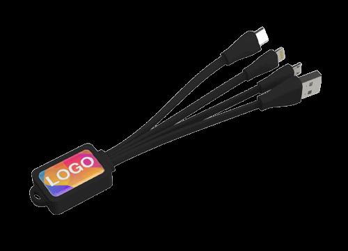 Multi - Emblémás Octopus USB töltőkábel készlet