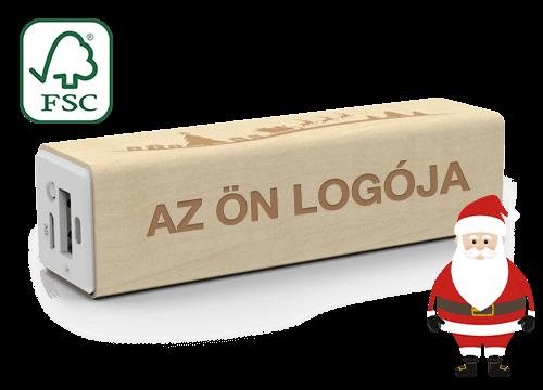 Maple Christmas - Egyedi Powerbank