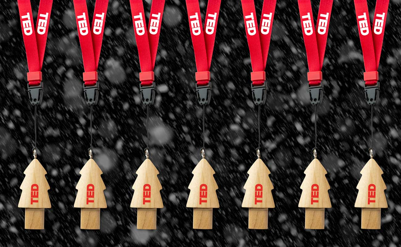 Christmas - Egyéni karácsonyfa USB-meghajtók