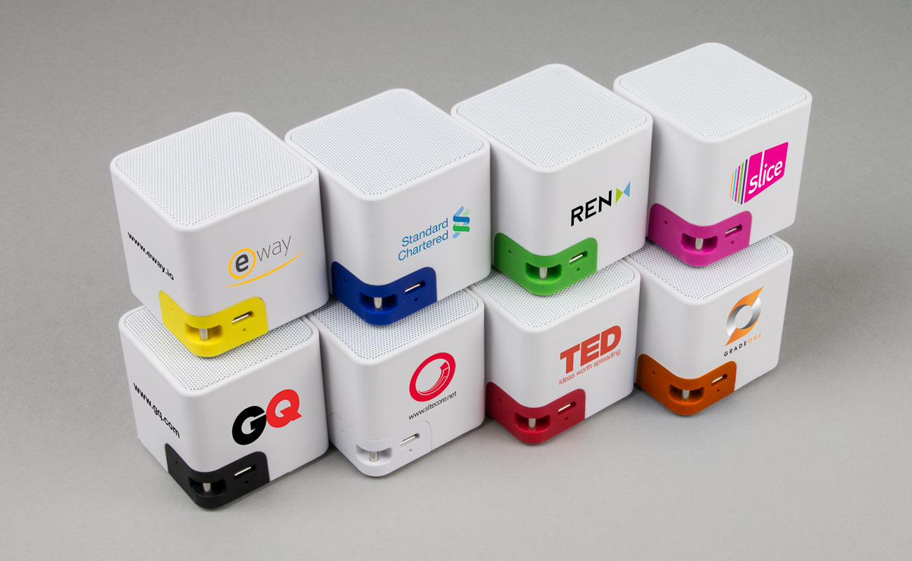 Cube - Üzleti Ajándék Hangszórók