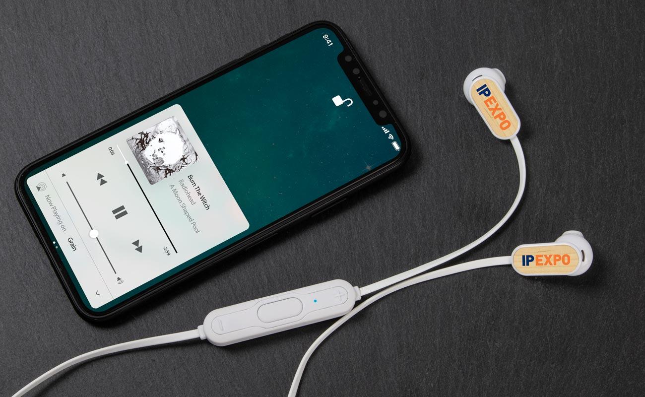 Grain Bluetooth® - Üzleti Ajándék Fülhallgatók