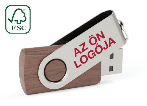 Twister Wood - USB Pendrive Fa