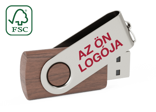 Twister Wood - USB Pen Drive Fa