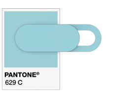 Pantone referencia Webcam Cover
