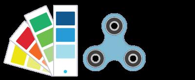 Pantone referencia Fidget Spinner